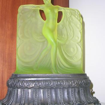 Grandma's Lamp - Art Nouveau