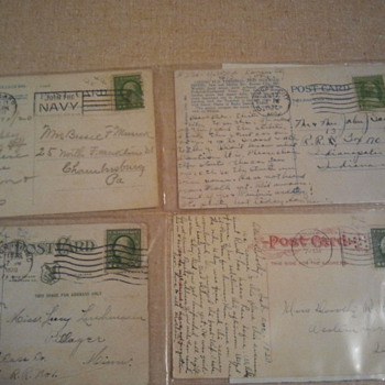 Lot 2- Early 20th century post stamps & Post cards - Stamps