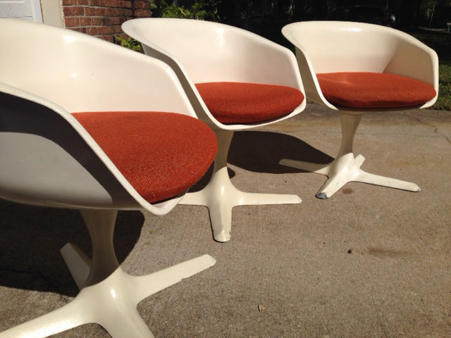 Vintage Burke Chairs Collectors Weekly