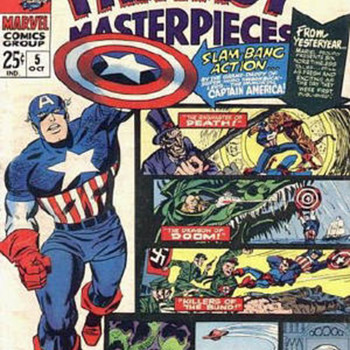 Fantasy Masterpieces,Marvel double feature.