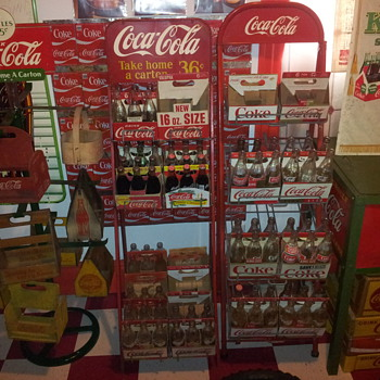Coca-Coca Display Racks - Coca-Cola