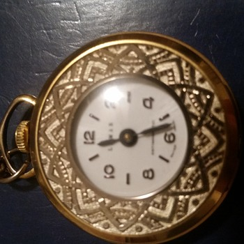Antique and vintage pendant watches collectors weekly lemar pendant watch antimagnetic mozeypictures Images