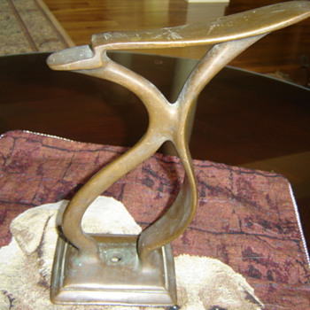 Brass Shoe-shine Stand - Tools and Hardware