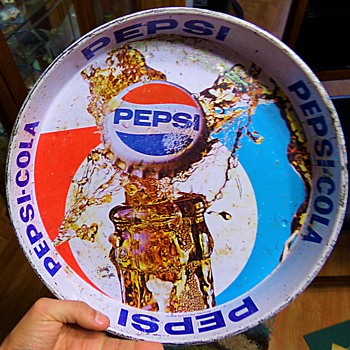 Vintage Pepsi Tray - Advertising
