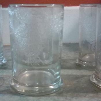 Dorothy C Thorpe California Set of 6 Glasses.... - Glassware