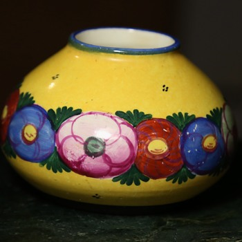 Beautiful Small Arts and Crafts Vase - Pottery