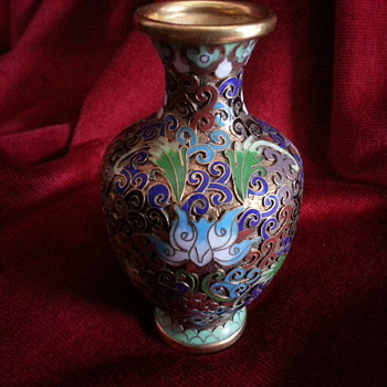 MY LATEST PIECE OF CLOISONNE - Asian
