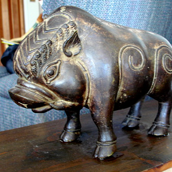 Cast iron Boar from what country of origin? - Animals