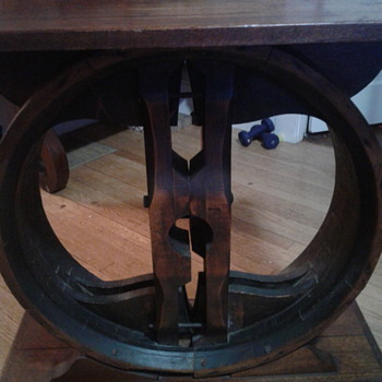 Mill Wheel Table - Furniture