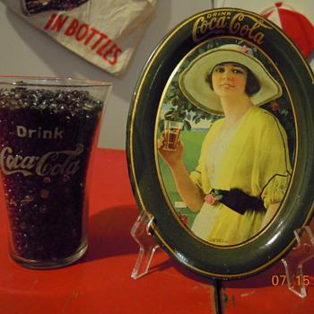 Free 1920 Coca-Cola Tip Tray - Coca-Cola
