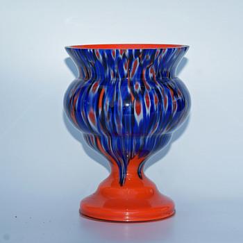 Kralik Millefiori decor on a Tango base - Art Glass