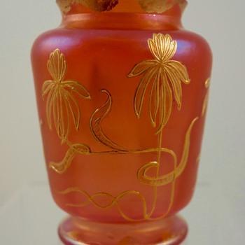 Loetz Metallrot Vase, Prod. Nr. I/7569, ca. 1898 - Art Nouveau
