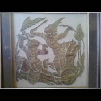 Tibet Block art