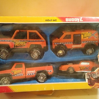 Buddy L Rebel Set - Model Cars