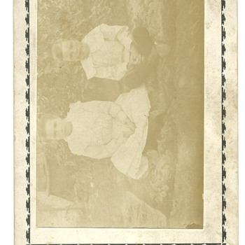 Cabinet Card of Goldie C. Call (Poulton) & John L. Call - Photographs