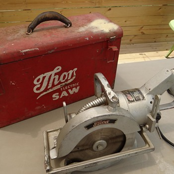 "1940s THOR saws-  6"" and 8""  - Tools and Hardware"