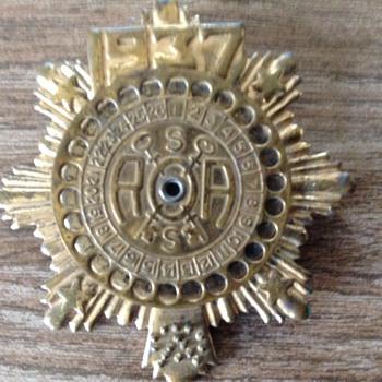 Decoder Brass Badge - Toys