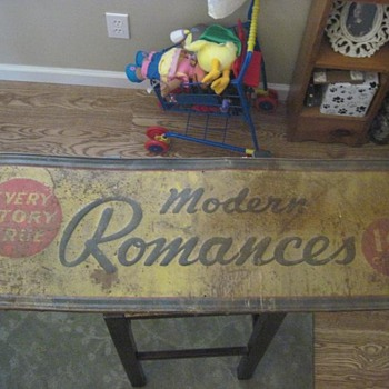 Romance Stories Metal Sign