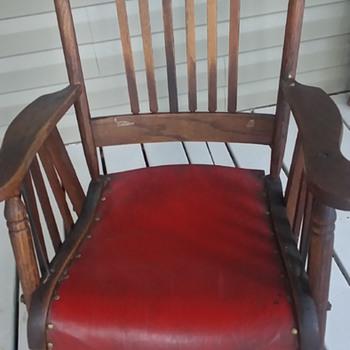 1890 rocking chair - Furniture