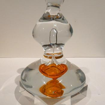 CARLOS R. PEBAQUÉ FOR GULLASKRUF  1987 - Art Glass