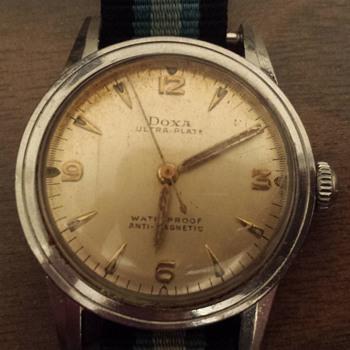 Doxa Mechanical Ultra Plate Anti Magnetic Steel Watch