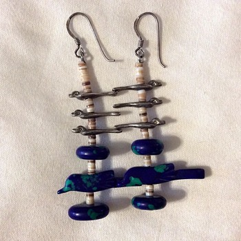 Silver earings!  - Costume Jewelry