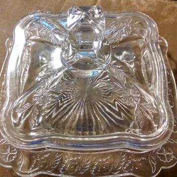 butter dish? - Glassware