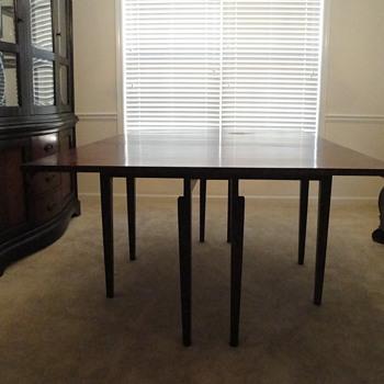 Great Aunt's Dinning Set, Duncan Phyfe Style RoseBack Set - Furniture