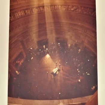 President John F. Kennedy lies in state at the Capitol Rotunda ~ November 24, 1963 - Photographs