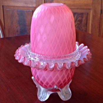 Fairy Lamp - Clarke Model 34 - 1888 - Art Glass
