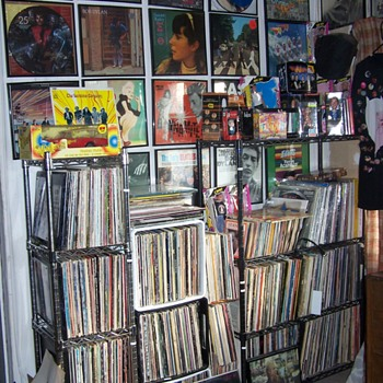 DIZZY'S RECORD COLLECTION..RECORD COLLECTING COULD BE A OCD!  - Records