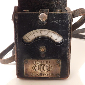 Vintage DuPont Blasting Galvanometer - Tools and Hardware