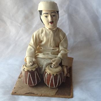 indian doll folk art - Asian