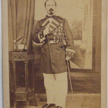 Spanish military man from Manila (2) - Photographs