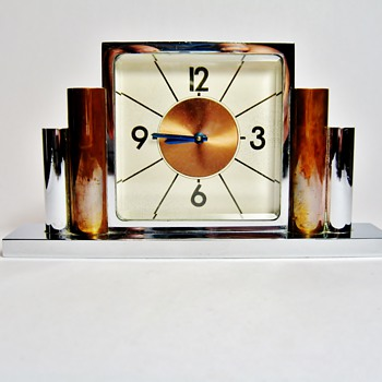 UNKNOWN ART DECO ALARM CLOCK  - Art Deco