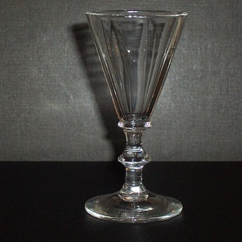 18th century Scandinavian fluted Glass - Glassware