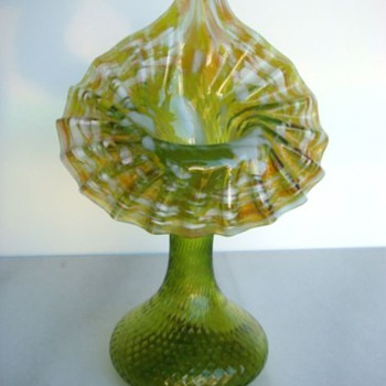 Bohemian Jack in the Pulpit c.1900 - Art Glass