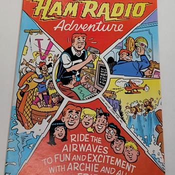 Archie's Ham Radio Adventures Comic Book - Electronics