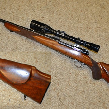 Husqvarna Model 1000 Super Grade rifle made 1952-1956 - Military and Wartime