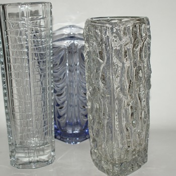 Three Sklo Union Beauties - Glassware
