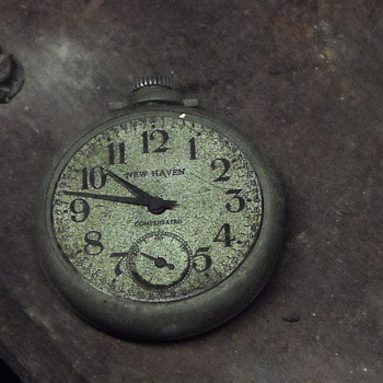 1937 New Haven Compensated pocket watch - Pocket Watches