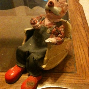 Old Man in Rocking Chair - Toys