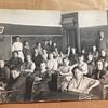 "Real Photo Postcard Bladen School Nebraska ""Grammar"" Classroom"