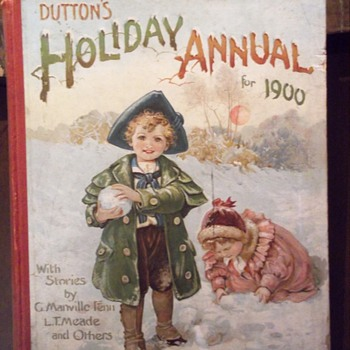 Dutton's Holiday Annuals - 1900 & 1903 - Books