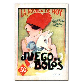 JUEGO DE BOLOS, book with illustrations by Joaquín Xaudaró (1926)