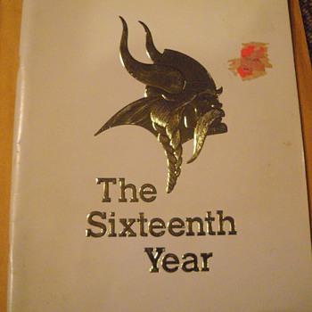 The Sixteenth Year - The Minnesota Vikings 1976 Yearbook - Football