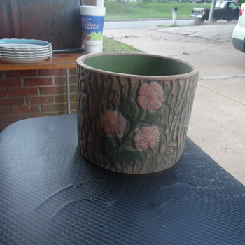 Beautiful Antique Green Pottery Or Stoneware - Pottery