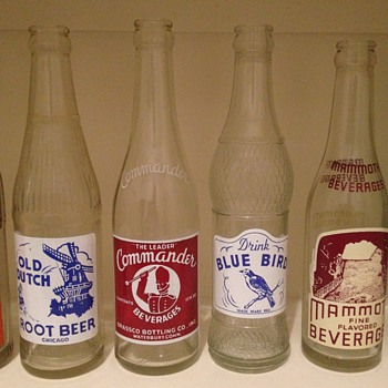 Some of my ACL soda bottles - Bottles