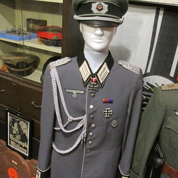 Inglorious Bastards Screen used German Officers Uniform
