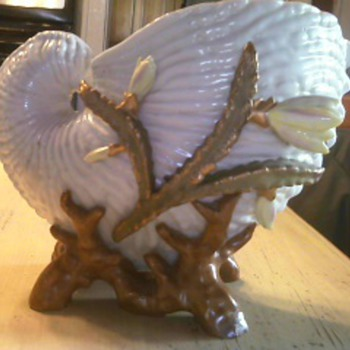 Dresden Nautilus Shell - Pottery